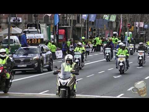 eDreams Mitja Marató de Barcelona 2018 · Km 5 Gran Vía/Aribau