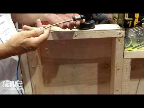 InfoComm 2014: BES Demos the Wire Python In-Wall Wire Pulling System