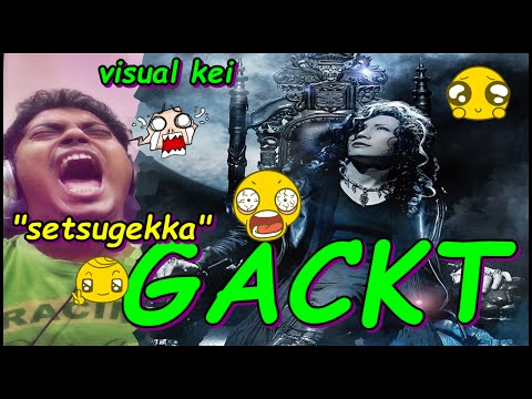 GACKT - Setsugekka - (The End of Silence) PV REACTION