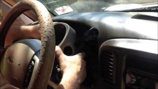"""1999 Ford F-150 """"gear shift"""", """"Auto Trans Shift Lever Replacement"""", """"Overdrive"""""""