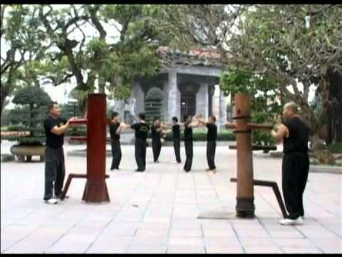 Wingchun Dummy Vietnam Moc nhan 2