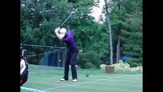 Kyle Stanley Iron Swing Face On May 29, 2012 Slow Motion