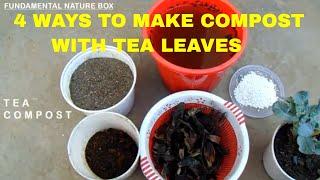 Cover images अपने पौधो को पिलाये चाय कुछ इस तरह से TEA FERTILIZER RECIPE  4 WAYS TO USE TEA LEAVES