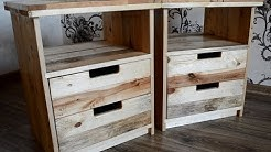 Nightstands from pallets