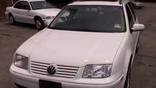 2001 VW Jetta GLS Wagon White for sale