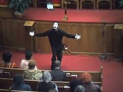I AM: Jason Nelson | GOSPEL MIME [Animated Anointing]