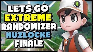 Final Battle ASH vs RED! - Pokemon Lets Go Pikachu and Eevee Extreme Randomizer Nuzlocke Episode 25
