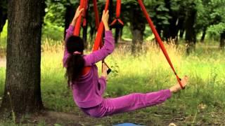 Видео урок Fly Yoga