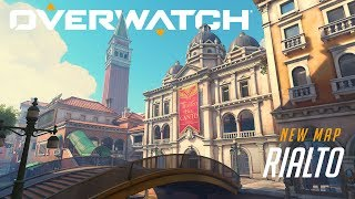 [NOW PLAYABLE] Rialto | New Escort Map | Overwatch