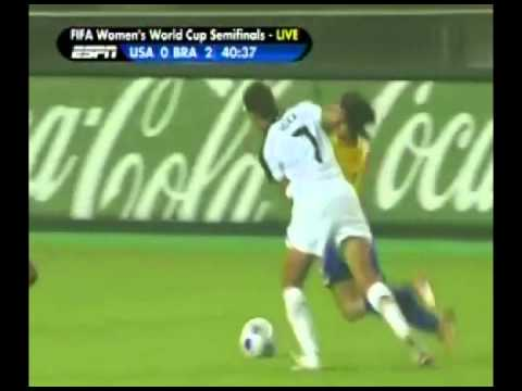 USWNT Brazil 2007 Women's World Cup Full Game