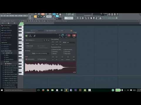 Fl Studio Tutorial: Change Pitch of an Audio Sample/Vocal Without Changing Tempo/Length