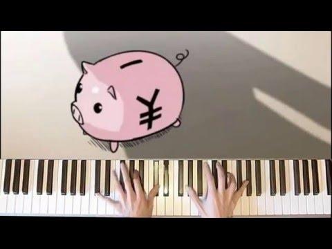 【VMP】The Empty Stomach Song - Hatsune Miku おなかすいたのうた (Piano)【 弾いてみた】