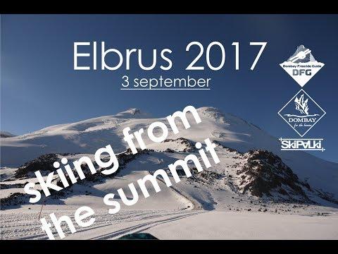 Elbrus 2017 Skiing From The Summit
