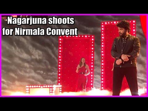 Nagarjuna In Nirmala Convent Shooting    Roshan   Kailash Kher