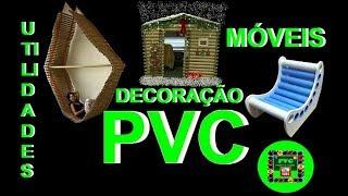 Móveis, utilidades, decoração com canos de PVC