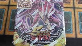 Yugioh 2010 Majestic Red Dragon Tin Booster Pack Opening!