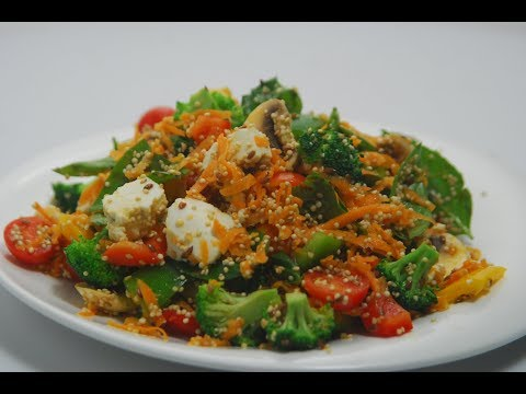 Power Packed Salad | Cooksmart | Sanjeev Kapoor Khazana