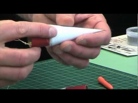 Papercraft How to Make Paper Nose Cones For Model Rockets 3