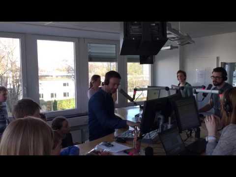 Baskets Kidsclub zu Besuch bei Radio Bonn/Rhein-Sieg