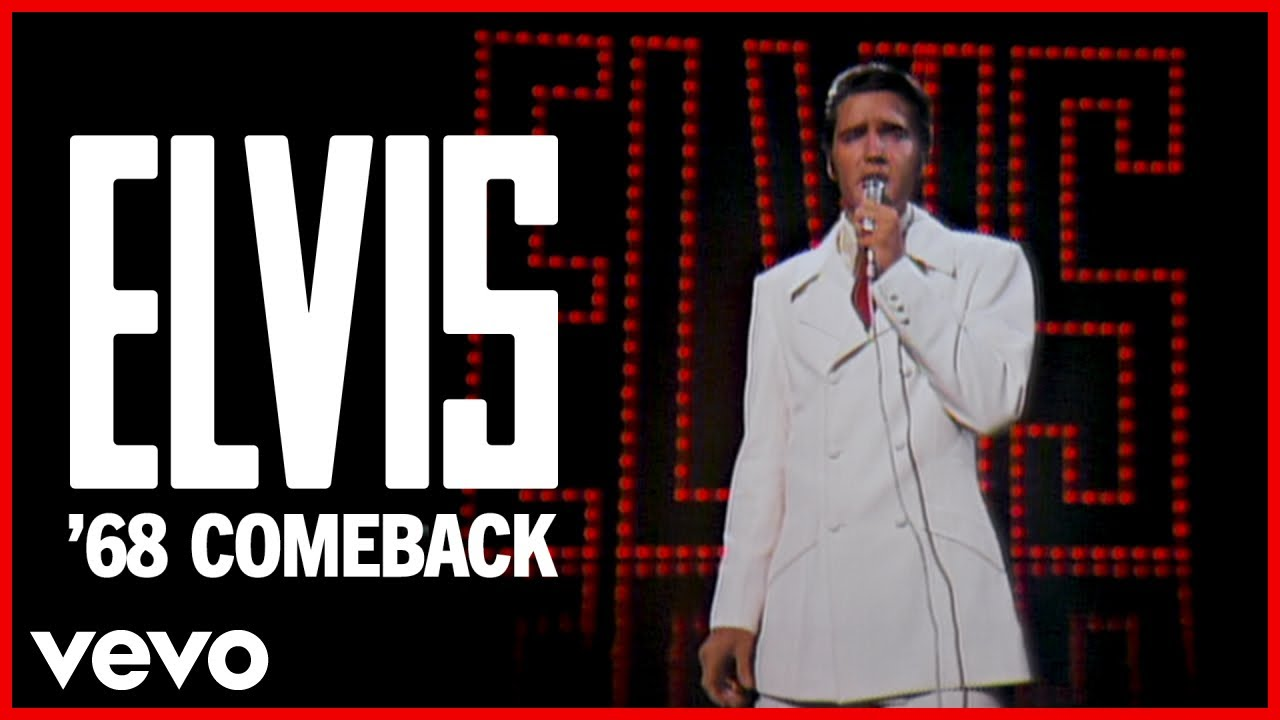Elvis Presley If I Can Dream 68 Comeback Special 50th Anniversary Hd Remaster Official Video Youtube