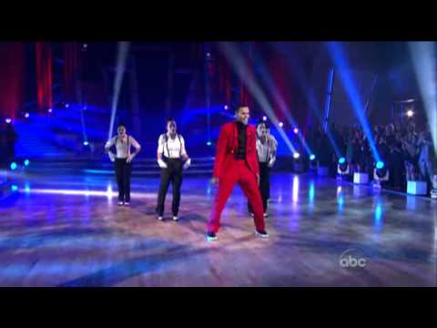 Chris Brown Live on Dancing With The Stars