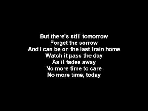 Lostprophets - Last Train Home Lyrics