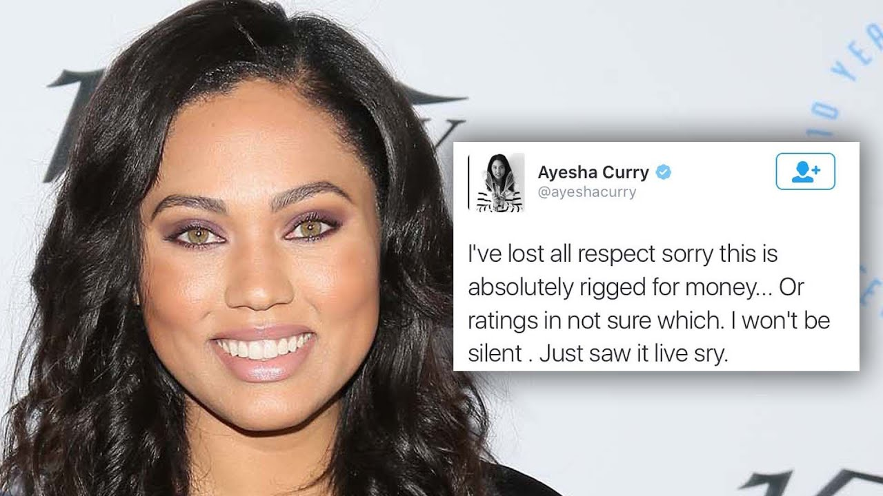 Ayesha Curry Says The NBA Finals Are Rigged - YouTube