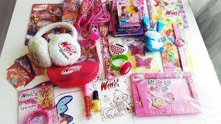 Мои Вещи Винкс Подарки К Журналам Обзор Winx Club Игрушки Для Девочек Маша и Медведь
