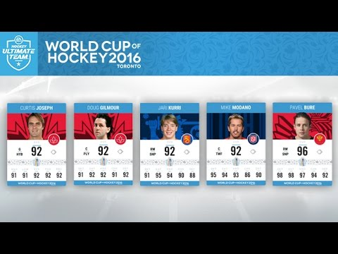 NHL 17 HUT - NEW WORLD CUP CARDS, SETS, AND PACKS!