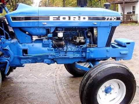 FORD TRACTOR 7710 FOR SALE