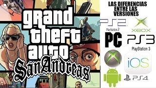 Las Diferencias entre las versiones de GTA San Andreas [Loquendo]
