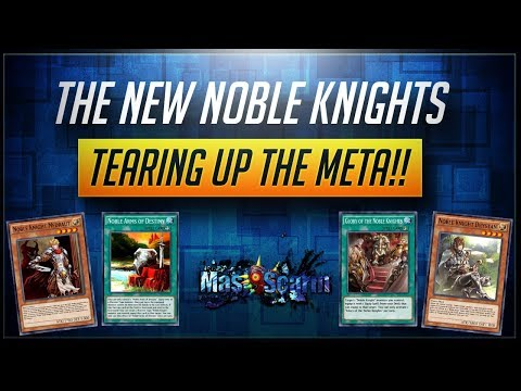 The New NOBLE KNIGHTS! Tearing Up The Meta!! | YuGiOh Duel Links w/ MasKScarin