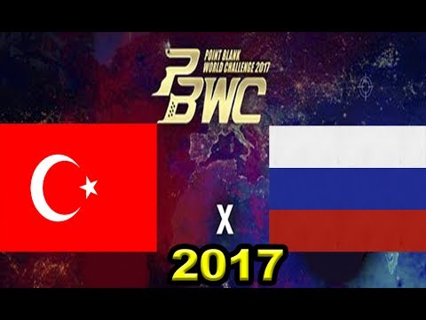 PBWC 2017 - Semifinal - Znation [Rússia] vs [Turkey] ICE - Point Blank