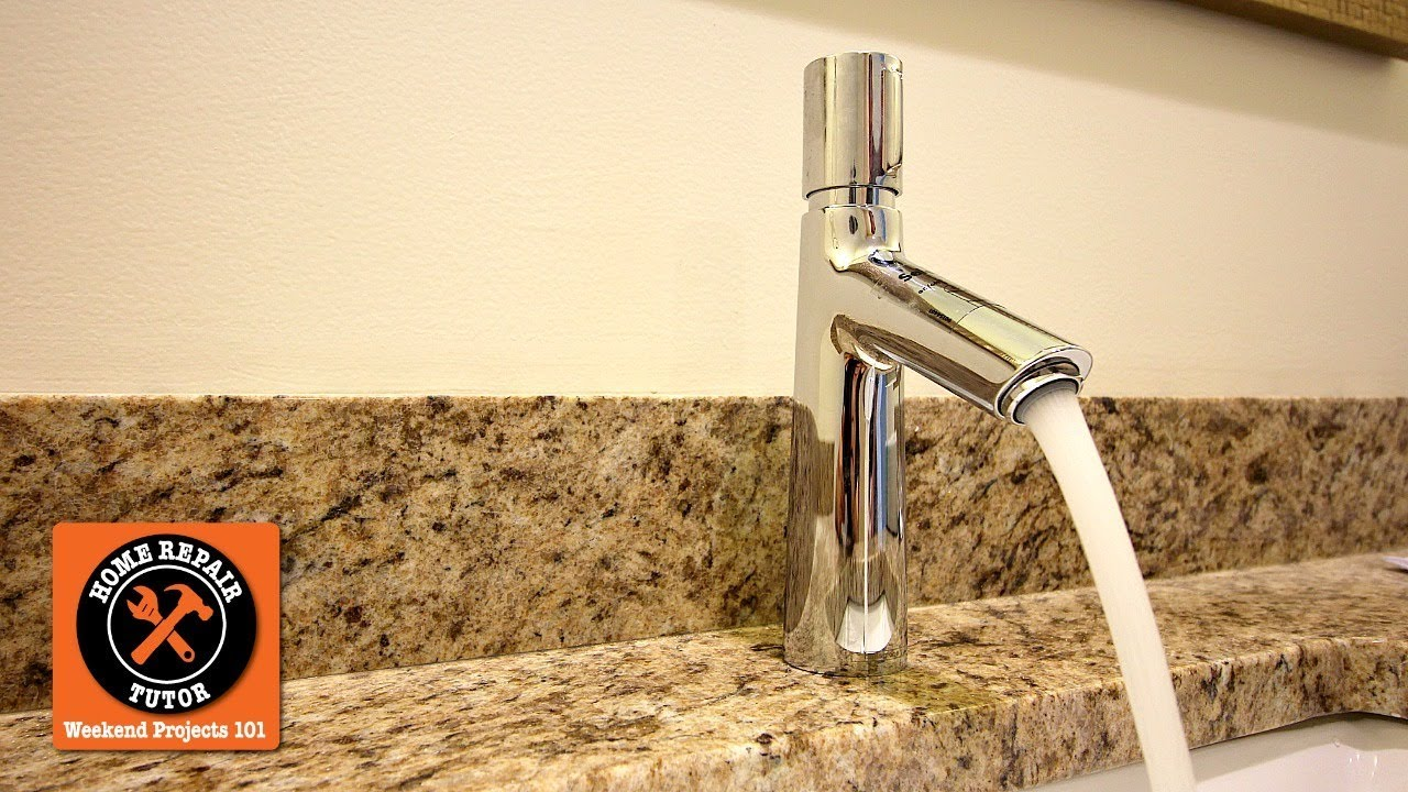 how to install a single handle bathroom faucet hansgrohe s talis select