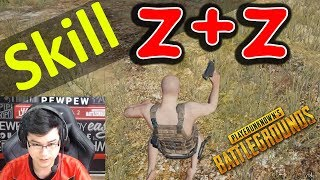 skill z + z trườn nằm trong pubg