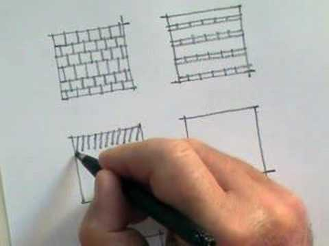 Architecture Drawing Tutorial draw like an architect_freehand_ 3.0 linework & pattern - youtube