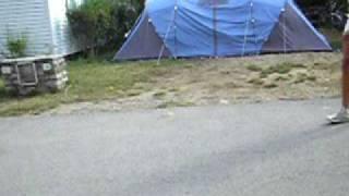 Camping de la plage , ARDECHE 2009
