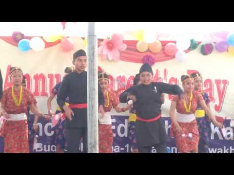 Nationality Dance performance In Reliance Co Ed School