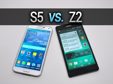 samsung galaxy s5 vs sony xperia z2 comparatif complet par test youtube. Black Bedroom Furniture Sets. Home Design Ideas