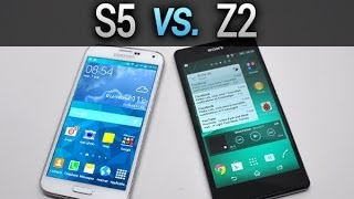 Samsung Galaxy S5 vs. Sony Xperia Z2, comparatif complet - par Test-Mobile.fr