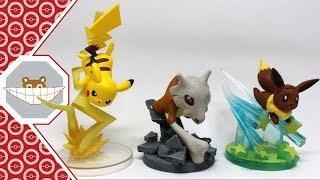 Pokemon Gallery Figures Unboxing and Review (Cubone, Pikachu, Eevee)
