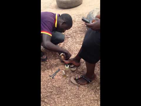 Local manicure and pedicure in Northern Nigeria
