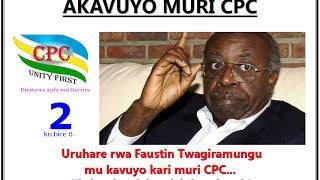 Akavuyo muri CPC n