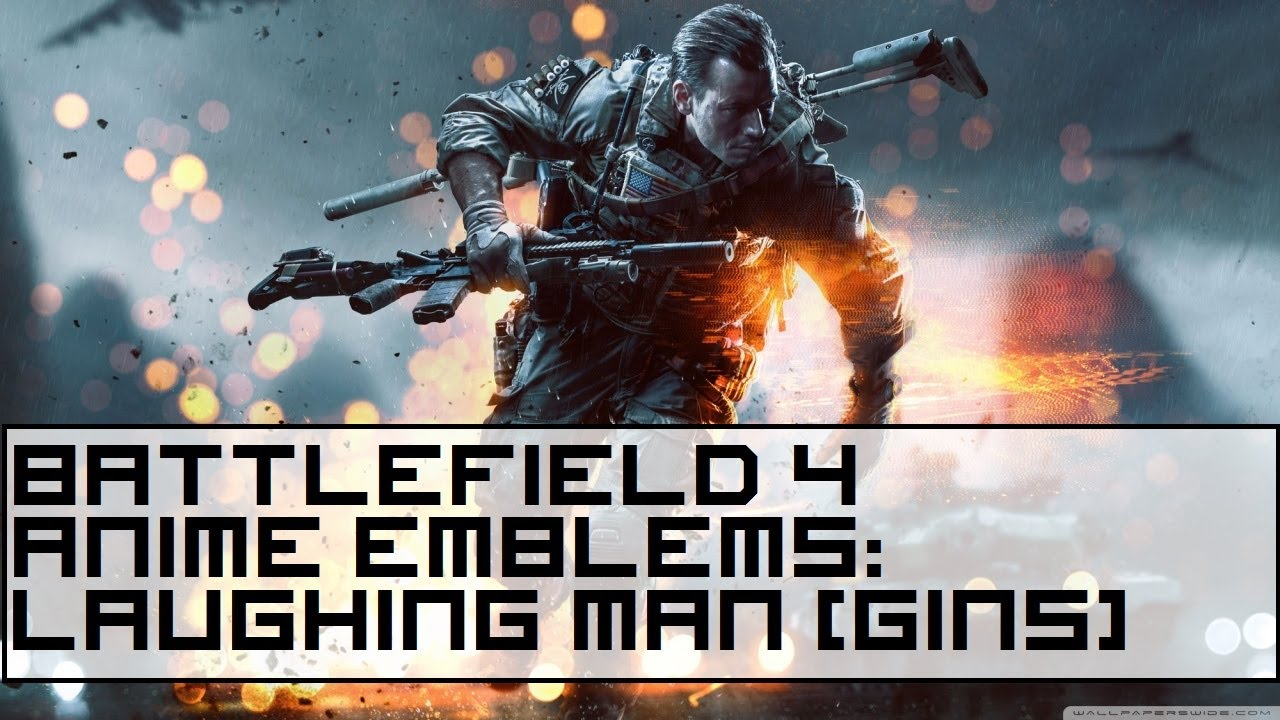 Battlefield 4 anime emblem showcase laughing man ghost in the battlefield 4 anime emblem showcase laughing man ghost in the shell tutorial youtube voltagebd Gallery
