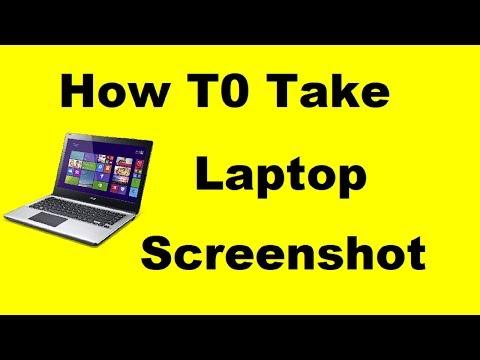 How To Take Screenshot In Laptop [HINDI]