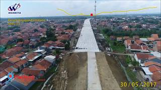 Penampakan Jalan Tol Brebes Pemalang dari Udara untuk Mudik 2017
