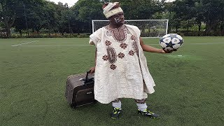 AFRICA'S BEST FOOTBALLER COMES TO ENGLAND EP1