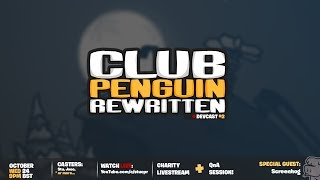 Club Penguin Rewritten | Podcast #2 | Charity Live-Stream | Special Guest: Screenhog! thumbnail