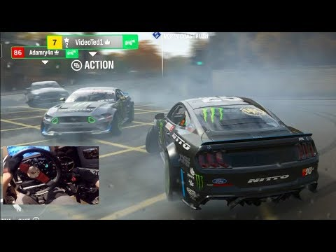 Forza Horizon 4 GoPro NEW RTR 1800hp Mustang - Online FreeRoam Drifting thumbnail
