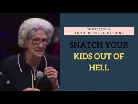 Snatch Your Kids out of Hell ~ Vesta Mangun 1989